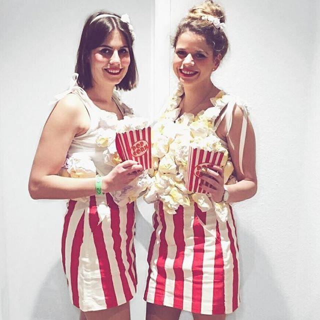 Popcorn Kostüm selber machen | Kostüm Idee zu Karneval, Halloween & Fasching