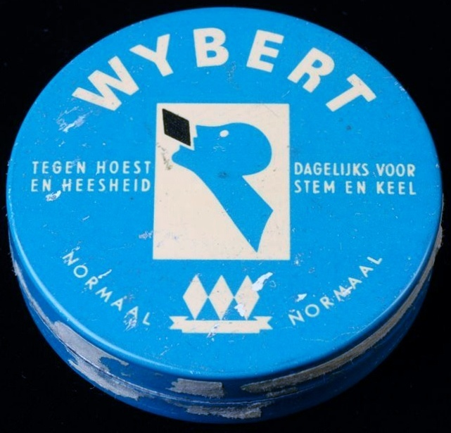 Cough-drops. Every Dutch Granny always had this in her purse. (Except in a square tin!)