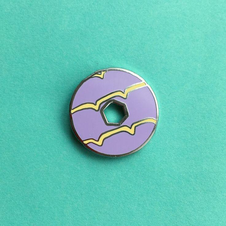 Party Ring Biscuit Enamel Pin – Nikki McWilliams