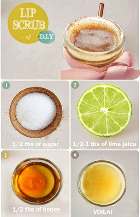 Somethin to try at home, Lip Scrub!
