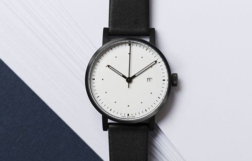 VOID Watches is a Swedish watch company based in Hong Kong. We work with geometric shapes, simple materials, and basic colours to create products that measure time.