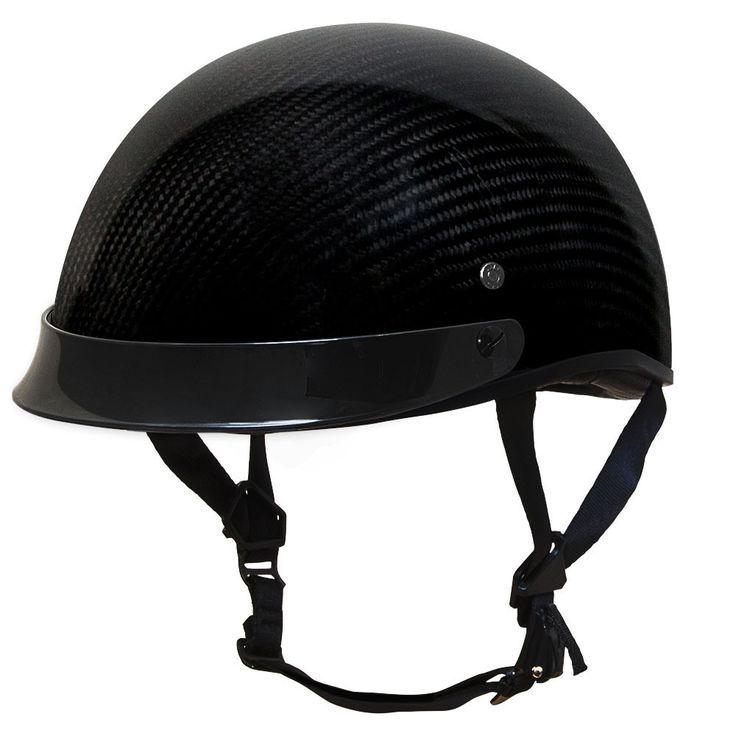 700CF EZ Rider Half Helmet with Peak