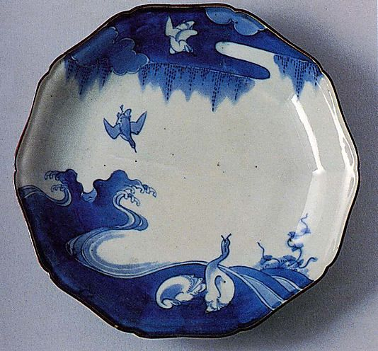 1700 Edo period Japan Porcelain with underglaze blue (Hizen ware Kakiemon type). & 77 best Japanese plates images by Janice Livingston on Pinterest ...