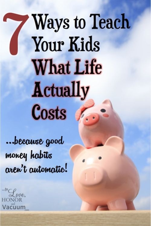 Teaching Kids About Money: 7 budget building exercises to teach teenagers what life costs, and to help kids figure out real life.