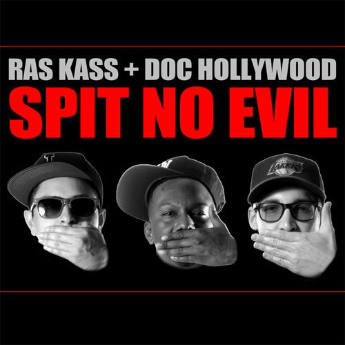 "RAS KASS and DOC HOLLYWOOD have come together with The DJBooth to bring listeners their new collaborative LP release, SPIT NO EVIL.    The project features 14 original records from the West Coast underground rhymesayer and buzzmaking beat crew (composed of singer/producer Louie Rubio and DJ/rapper Lex Larson). Included on the tracklist are reader-approved singles ""The Great Recession,"" ""Big Booty B*tches,"" ""Arrested Developments (Hands Up)"" and ""I Wave."""