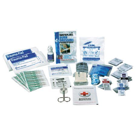 First Aid Only Ansi 2015 Compliant First Aid Kit Refill, Class A, 25 People, 89 Pieces, White