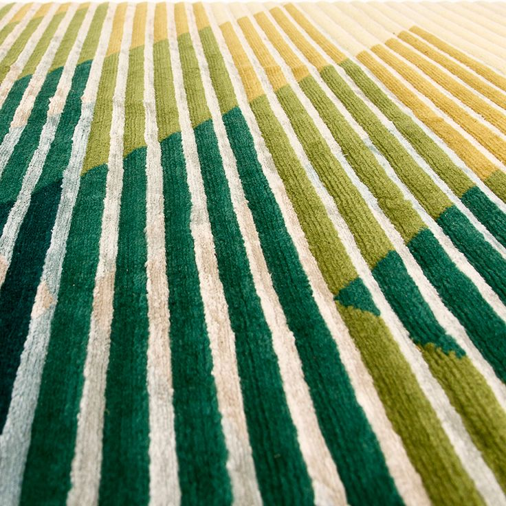 'LAKE' RUGS BY RAW EDGES FOR GOLRAN