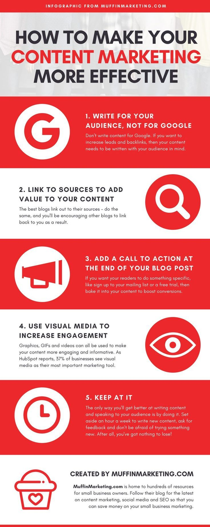 4 Reasons to Invest in Content Marketing - Infographic