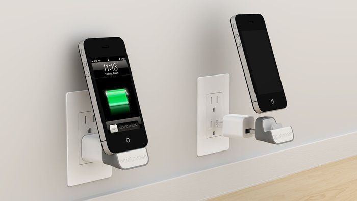 Iphone MiniDock Power Adapter. For everyone who hates wires.    http://www.ahalife.com/signup/?utm_source=Pinterest_medium=NickGoodey