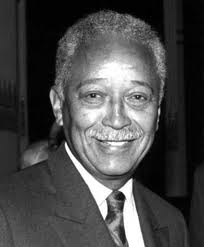 David Dinkins, former mayor New York City (1990 -1993)...first and only African American to hold this position.