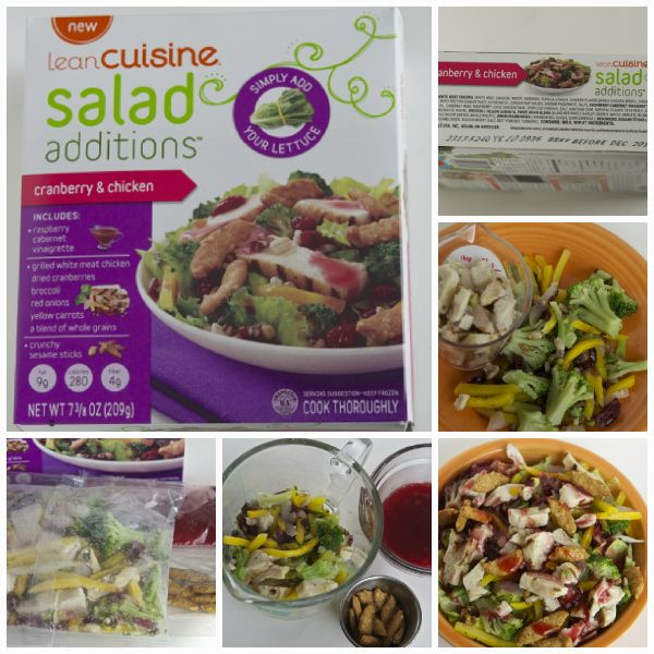 Better than the Freezer Aisle: Lean Cuisine Copy Cat Cranberry Pecan Chicken Salad Topper | OAMC from Once A Month Mom