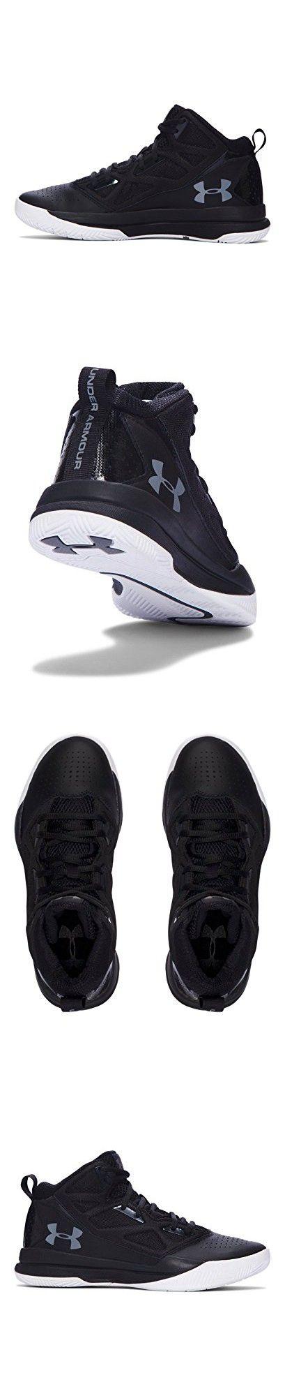 Under Armour Women's UA Jet Mid Basketball Shoes 10 Black