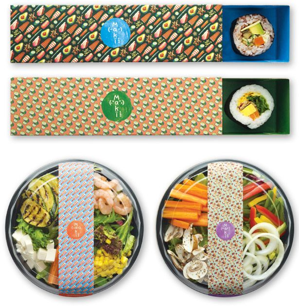 makisan sushi packaging