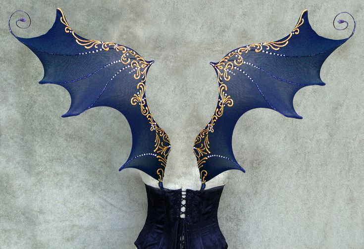 Draconian Wings. $110.00, via Etsy.