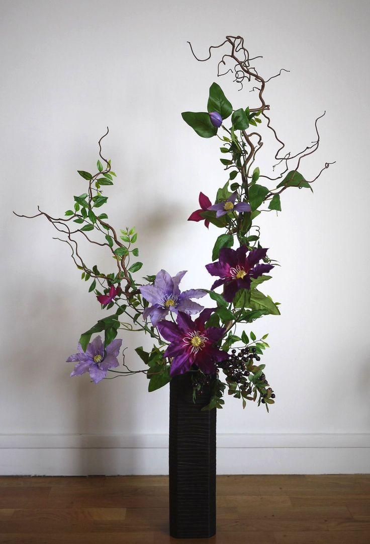 Les 25 meilleures id es de la cat gorie arrangements fleurs artificielles sur pinterest fleurs for Arrangement floral artificiel