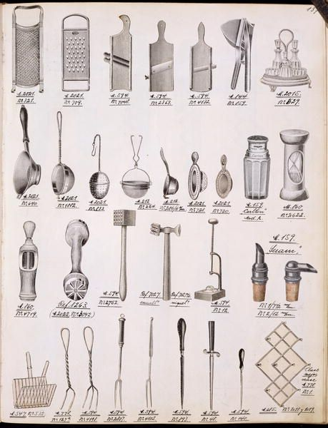 Victorian Kitchen Utensils