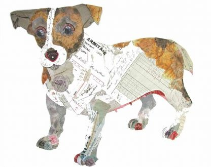 Jack Russell - Collage print - Love it!