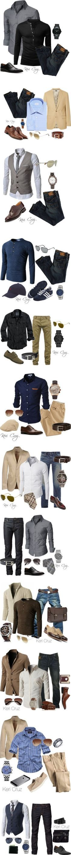 new style by christopher-howard on Polyvore featuring Doublju, American Eagle Outfitters, Mercanti Fiorentini, Movado, J.Crew, Ermenegildo Zegna, Cole Haan, Shinola, Comme des Garçons and Ray-Ban