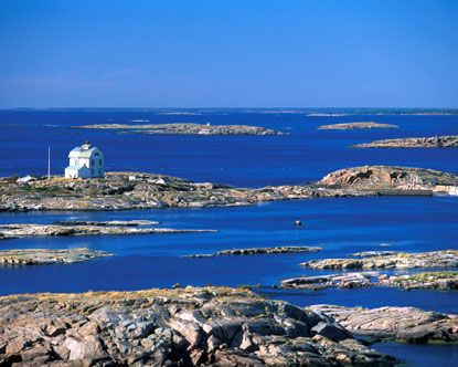 Finnish archipelago-sailed through it from Sweden