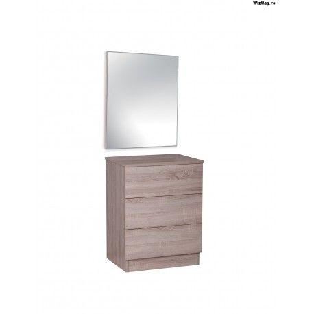 Comoda si oglinda dormitor Optimus