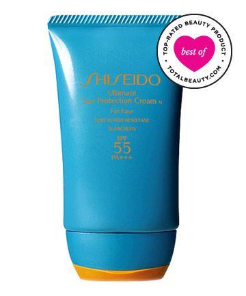 No. 9:  Shiseido Ultimate Sun Protection Cream SPF 55 PA+++, $35