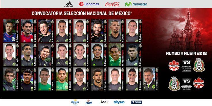 ISAAC BRIZUELA Y ORBELÍN PINEDA CONVOCADOS AL TRI La Dirección de Selecciones Nacionales da a conocer la lista de los jugadores que han sido convocados por el Director Técnico, Juan Carlos Osorio, para integrar a la Selección Nacional de México que disputará dos partidos de Eliminatoria Mundialista en el presente mes ante Canadá.