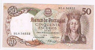 Notas de Portugal e Estrangeiro World Paper Money and Banknotes: Portugal - 50 Escudos 28-02-1964 - Pick 168