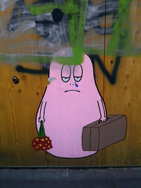 my pink sad neighbour, Zurich West
