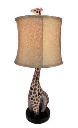 Amazon.com: 28 Inch Tall Hand Painted Giraffe Table Lamp: Home & Kitchen