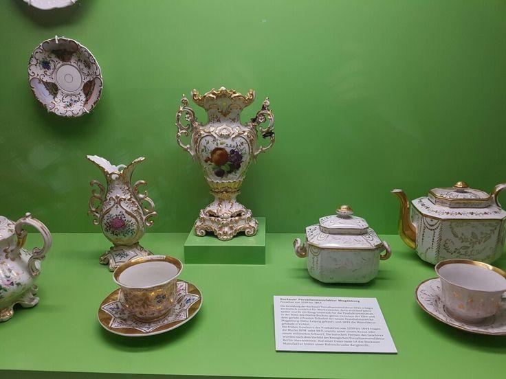 Ausstellung im Museum Magdeburg.
