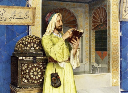 Osman Hamdi Bey (1842-1910), was an important Oriental painter who made substantial and lifelong contributions to various fields of culture and arts such as painting, archaeology, museums and art education.