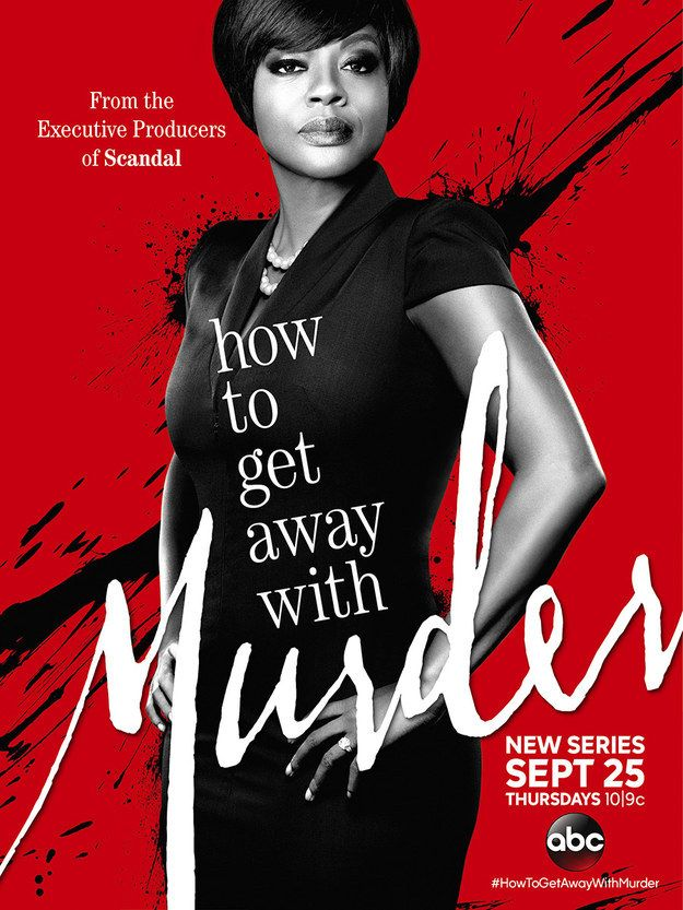 "The ""How To Get Away With Murder(ABC)"" Poster Is Basically Perfect In Every Way"