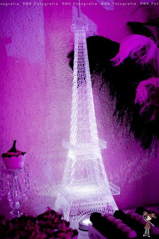 Paris Theme birthday party 18