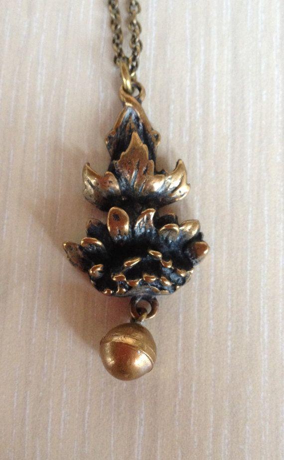 Pentti Sarpaneva Necklace Bronze Finland Scandinavian