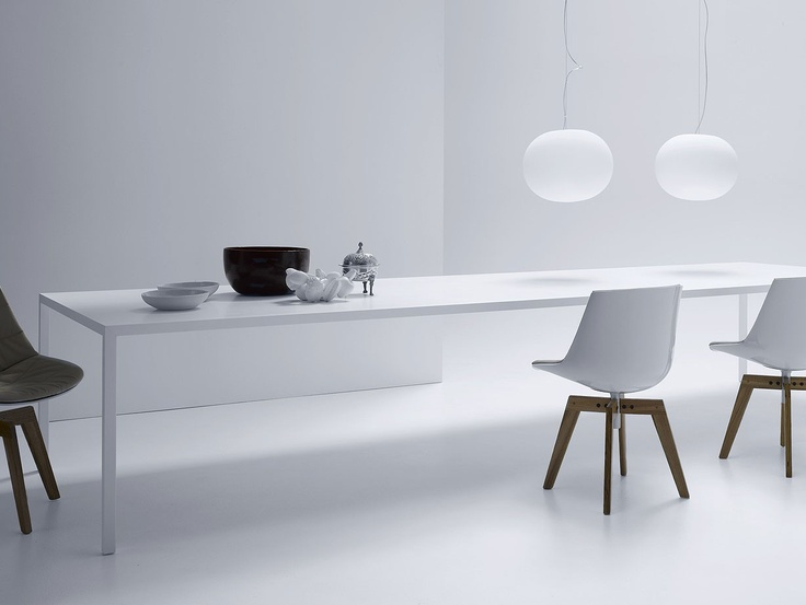 Table, MDF Itaila by Piergiorgio & Michele Cazzaniga
