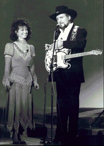 Another husband and wife team : Waylon Jennings & Jessi Colter