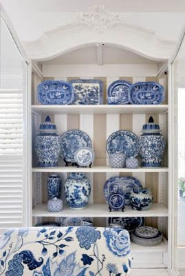 All blue and white | Interior Heaven