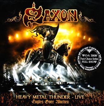 SAXON - HEAVY METAL THUNDER-LIVE / 2 CD