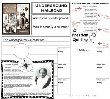 underground railroad worksheet. Black Bedroom Furniture Sets. Home Design Ideas