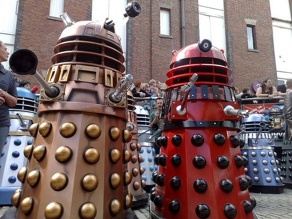 How to Build a Dalek... Guys. We might seriously have to do this.