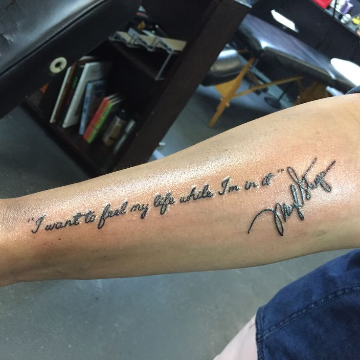 My Meryl Streep tattoo ... Yay