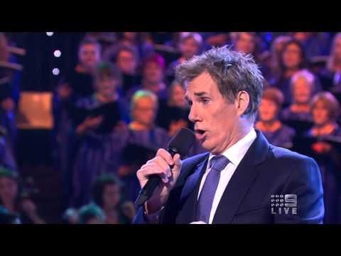 David Hobson- The Holy City- Carols by Candlelight. Sidney Myer Music Bowl. Melbourne. 2012  http://youtu.be/10t7EbkHDzg