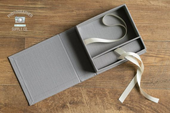Linen and Ribbon 4x6 Print & USB Flash by PhotographerSupplyCo