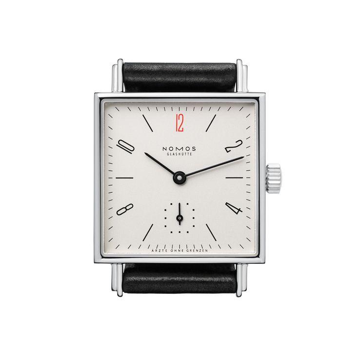 Tetra 27 for Ärzte ohne Grenzen Deutschland stainless steel back | Beautiful watches purchased online. Directly from NOMOS Glashütte.