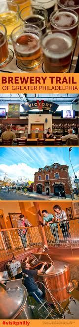 Brewery Trail of Greater Philadelphia (Photos by M. Edlow, M. Fischetti, J. Fusco, R. Kennedy, J. Smith and G. Widman for Visit Philadelphia)