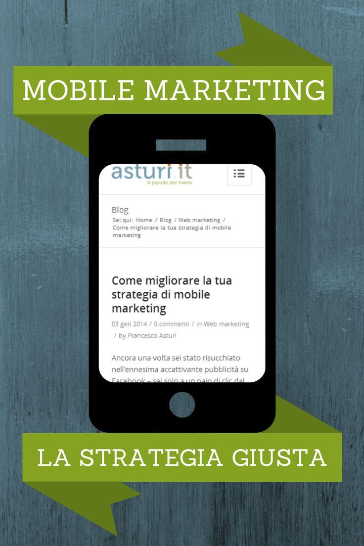 Come migliorare la tua strategia di mobile marketing