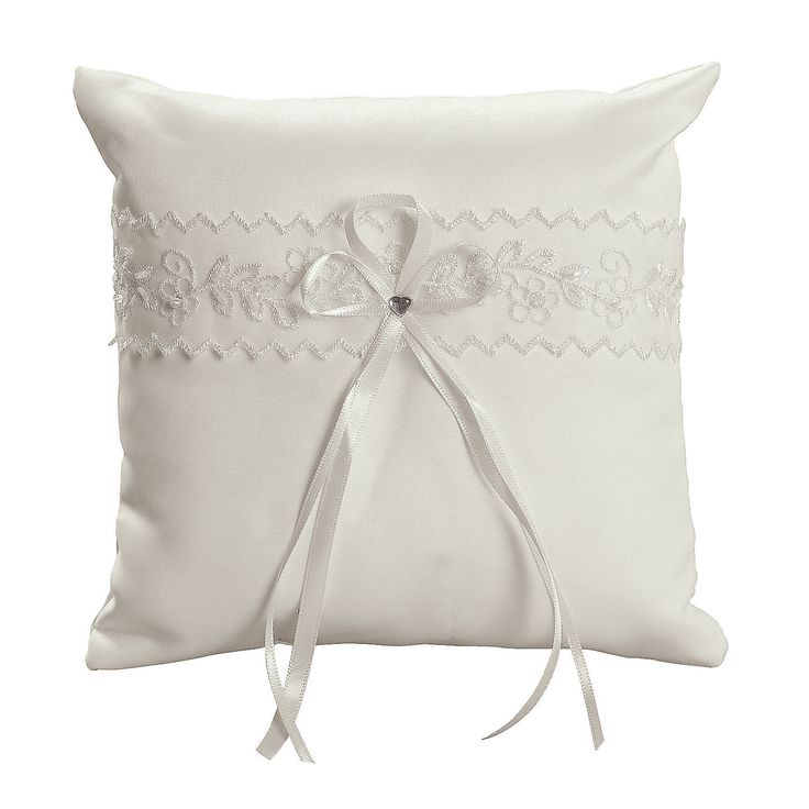 Ivory+Lace+Wedding+Ring+Pillow+-+OrientalTrading.com