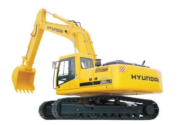 Hyundai R290lc 7 Crawler Excavator Service Manual Hyundai Excavator Hydraulic Excavator