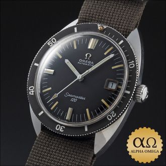 Omega Seamaster 120 m-Ref.166.027 matte black dial-1968