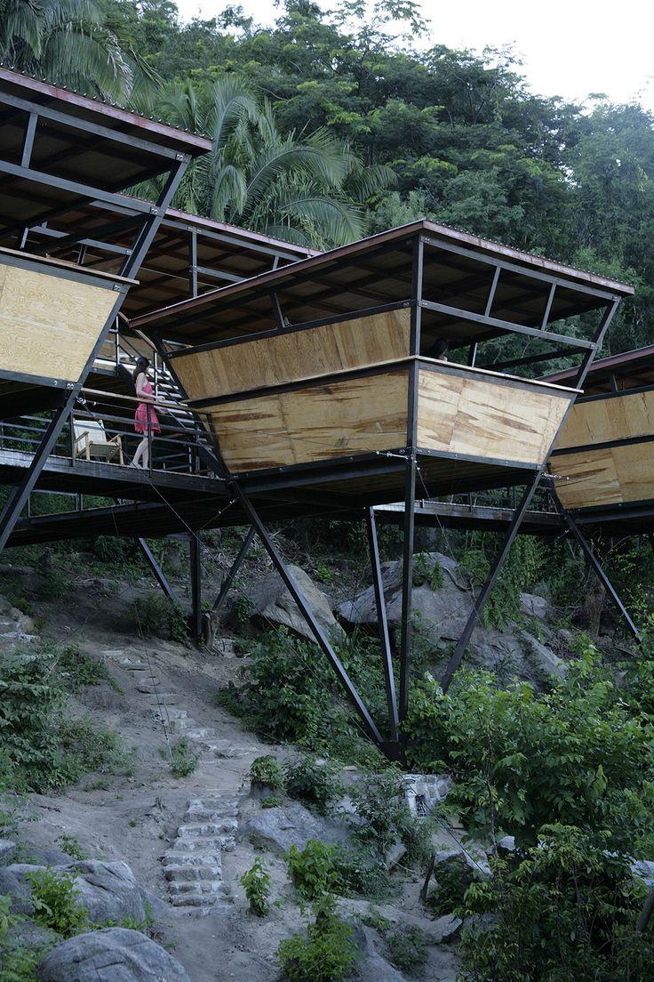 V Houses by Heinz Legler